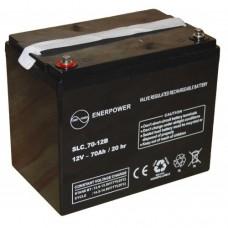 Batteria AGM  12 V 70 Ah  20 h-SLC70-12B