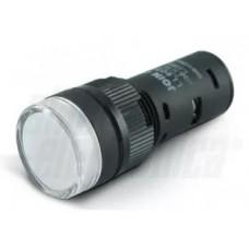 Indicatore led bianco 24 V-SPIA007...